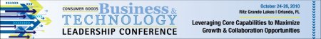 onsumer Goods Business & Technology Leadership Conference