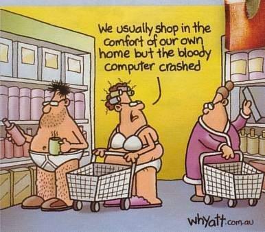 Online shopping creates bad habits